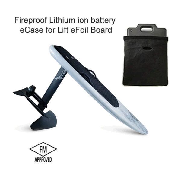 Lift eFoil Fireproof Lithium Battery eCase