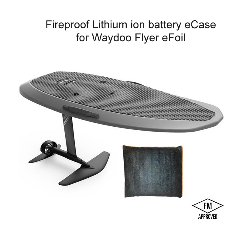 Waydoo flyer efoil fireproof battery case